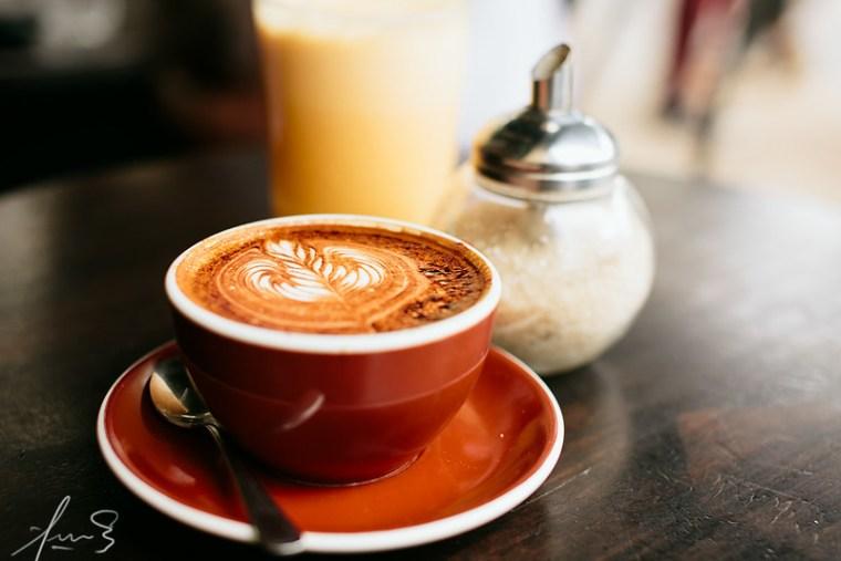 Cappuccino at Gnome Surry Hills
