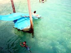 Sea slide, Rawa Island