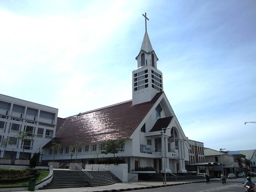 Methodist church, Sibu