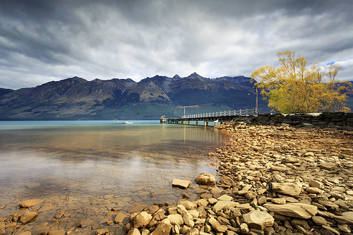 Glenorchy shores von Luke Tscharke