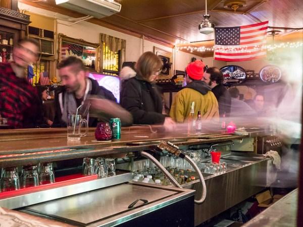 Capri Social Club. Greenpoint, Brooklyn