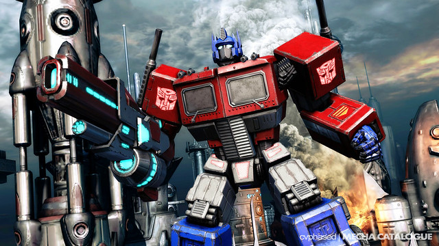 G1 Optimus Prime in TRANSFORMERS Fall Of Cybertron