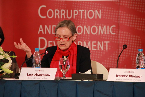 Lisa Anderson (American University in Cairo)