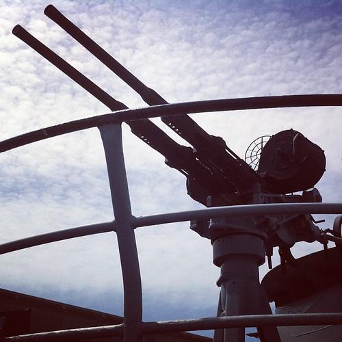 Gun of the USS Pampanito