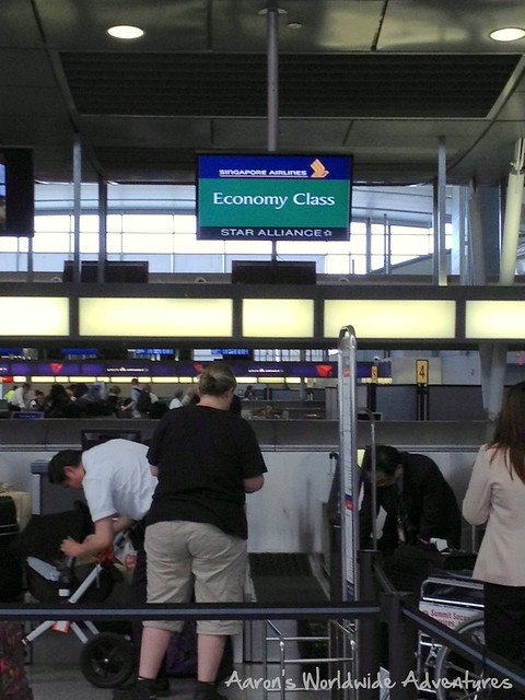 Singapore Check-in at JFK