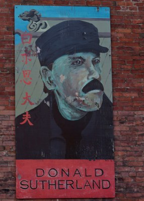 Saint John : Famous Saint John - Donald Sutherland