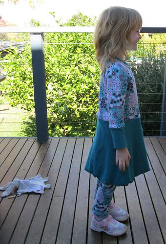 nigella tunic & ottobre leggings