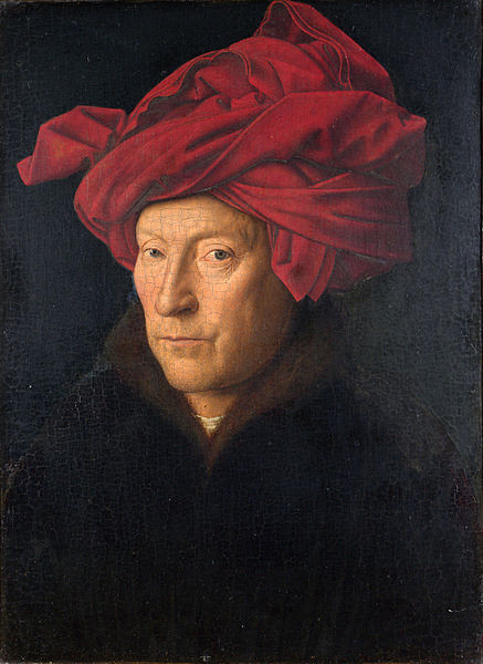 Jan van Eyck, Portriate of a Man, 1433.