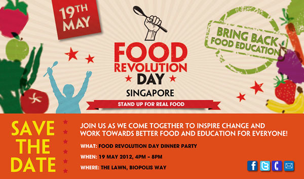 Food Revolution Day poster