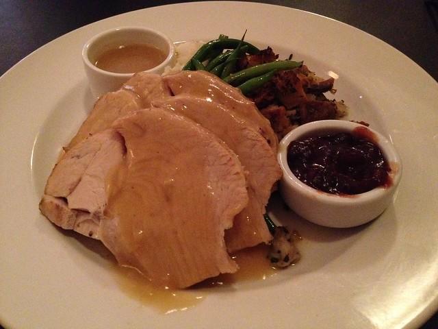 Turkey dinner - Jake's on Market
