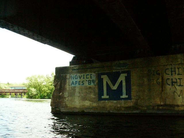 undert the bridge