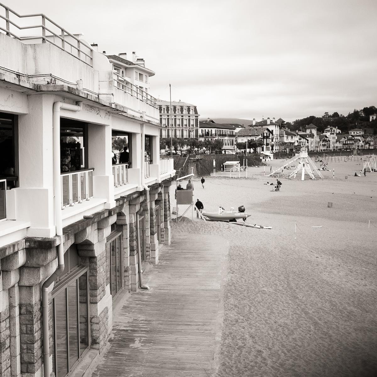 En la playa de San Juan de Luz (3106)