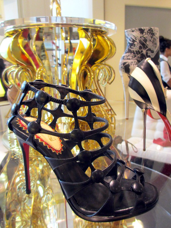 Cage-y heel by Louboutin