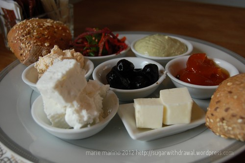 Nelly's Kitchen Breakfast Cheese and Olives
