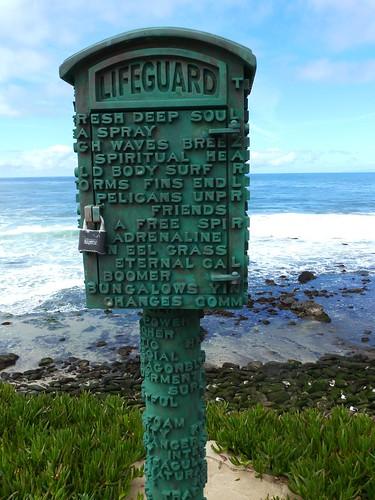 CA - SD  3-19-12 049 Lifeguard Phone