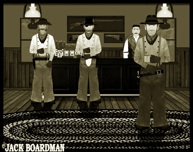 The best place to find out would be the saloon ©2012 Jack Boardman