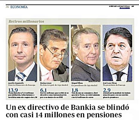 12e30 Pensiones ejecutivos Bankia