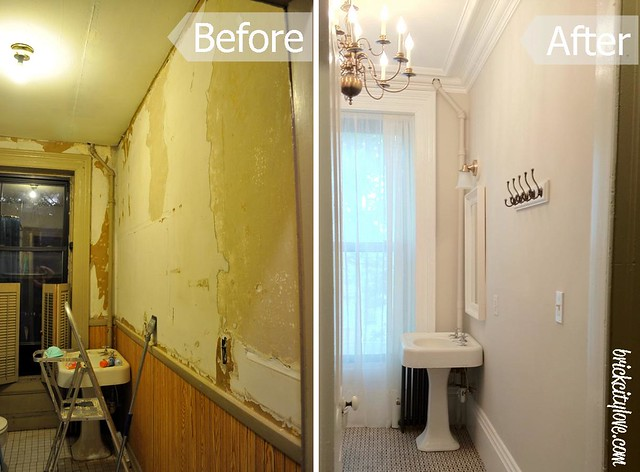 2nd floor bath before-after 2