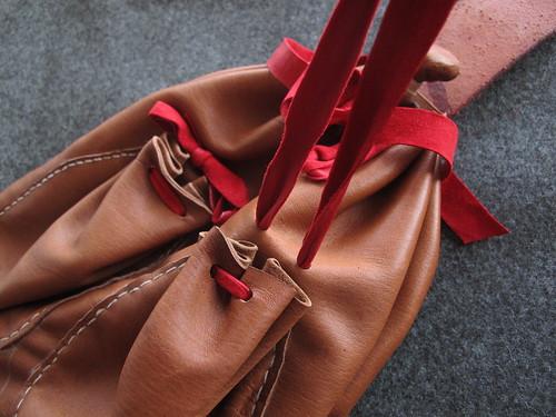 16th century German - bag - closing pocket