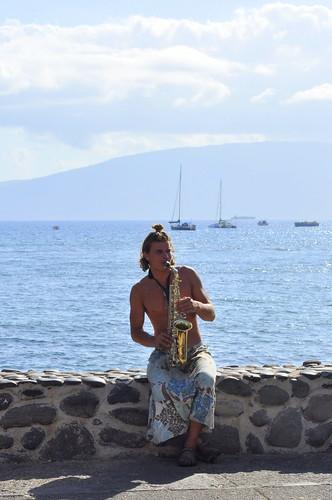 maui saxophonist