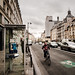 the bike lanes are wide in Paris