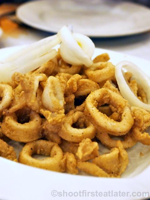 Sunburst Fried Chicken Cebu- calamares P238