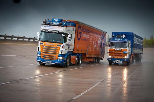 Scania R730 & Scania 141