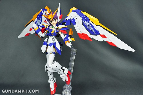 Armor Girls Project MS Girl Wing Gundam (EW Version) Review Unboxing (77)