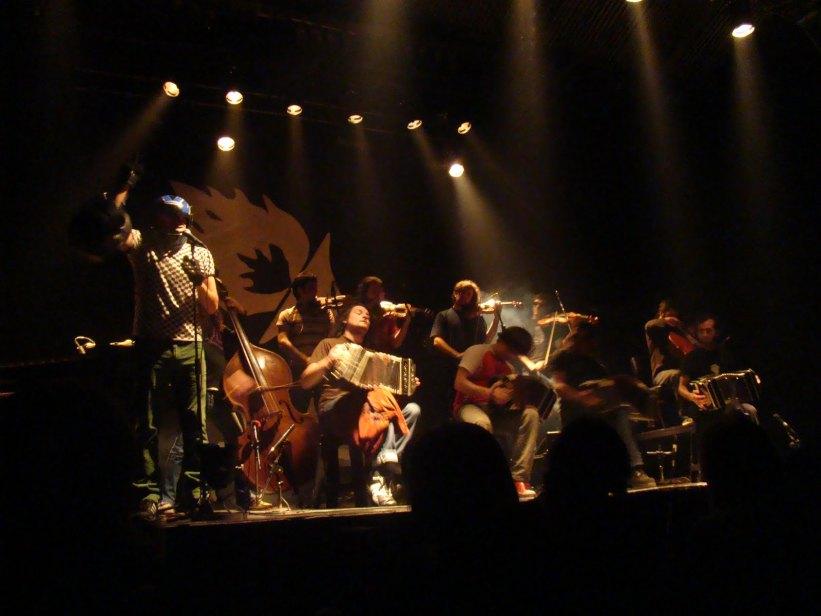 escutar tango em Buenos Aires CAFF
