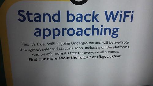 WiFi on tube
