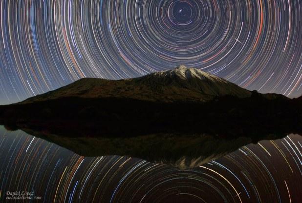 Cielo de Tenerife. Foto Daniel Lopez