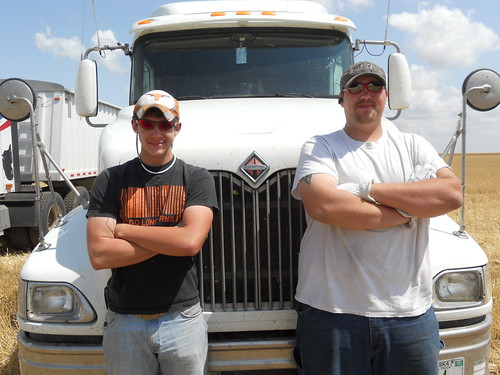 Truckers Danny and Greg