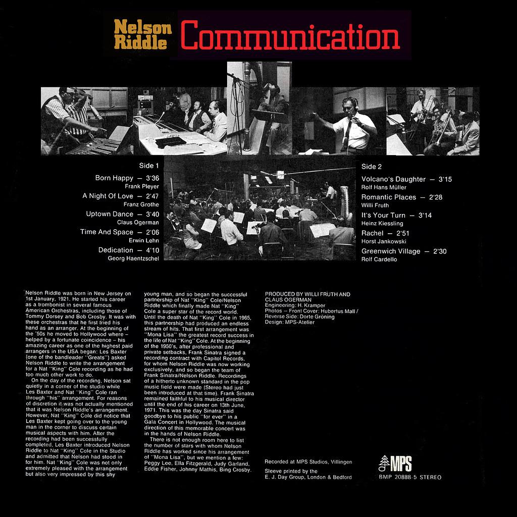 Nelson Riddle - Communication