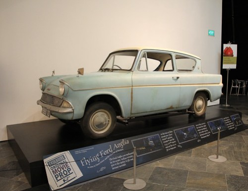 Flying Ford Anglia at Harry Potter Exhibition - 1
