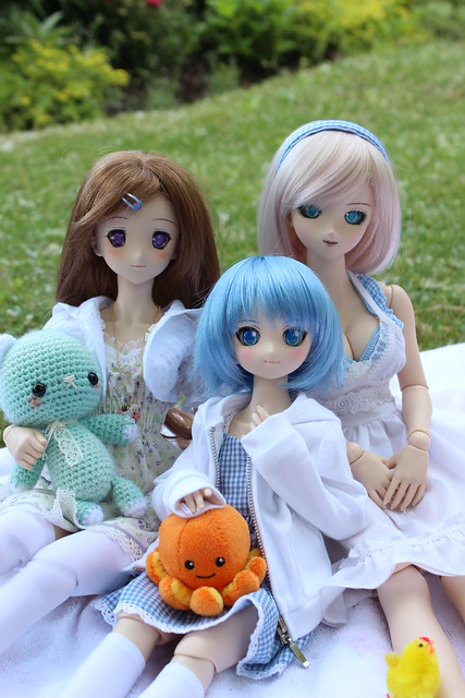 Mashiro, Cirno and Hinata