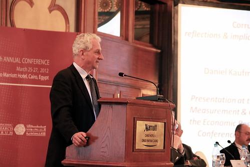 Daniel Kaufmann (Brookings Institution)