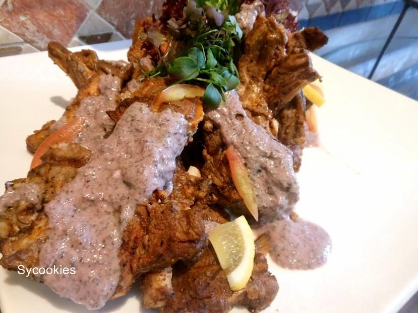 7.lamb salad