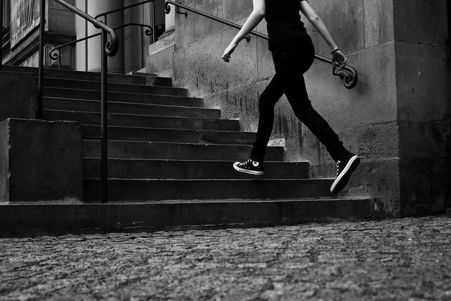 Walking through the Air