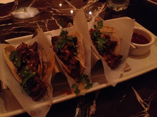 Asian short rib tacos - Grand Lux Cafe
