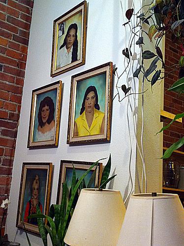 Paintings of ladies