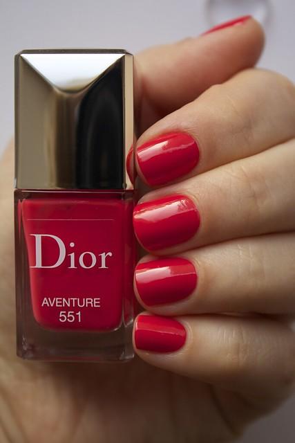 11 Dior 551 Aventure swatches