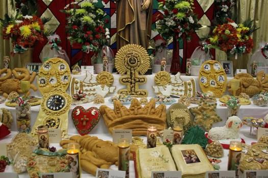 St. Joseph's Day Altar at St. Cletus, Gretna LA