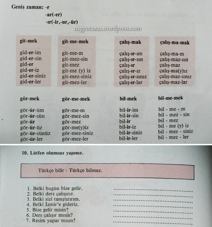 Türkçe öğreniyoruz török nyelvkönyv, munkafüzet és hanganyag
