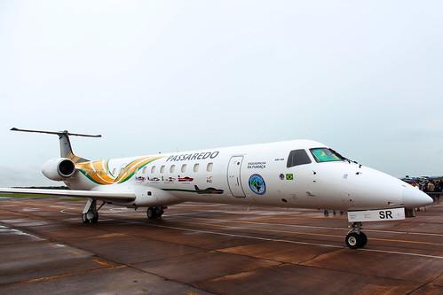 Passaredo | Embraer ERJ-145 | EDA 60 Anos @ Pirassununga