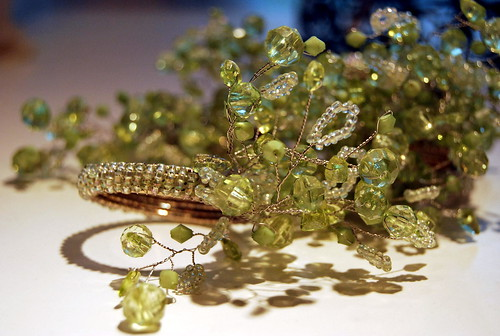 OPUS - Green Beaded Napkin Rings (7)