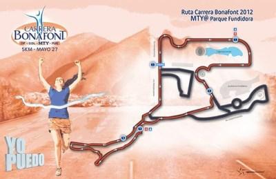 Ruta Carrera Bonafont 2012 Monterrey