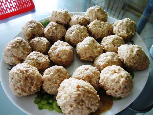 Meatballs - uncooked