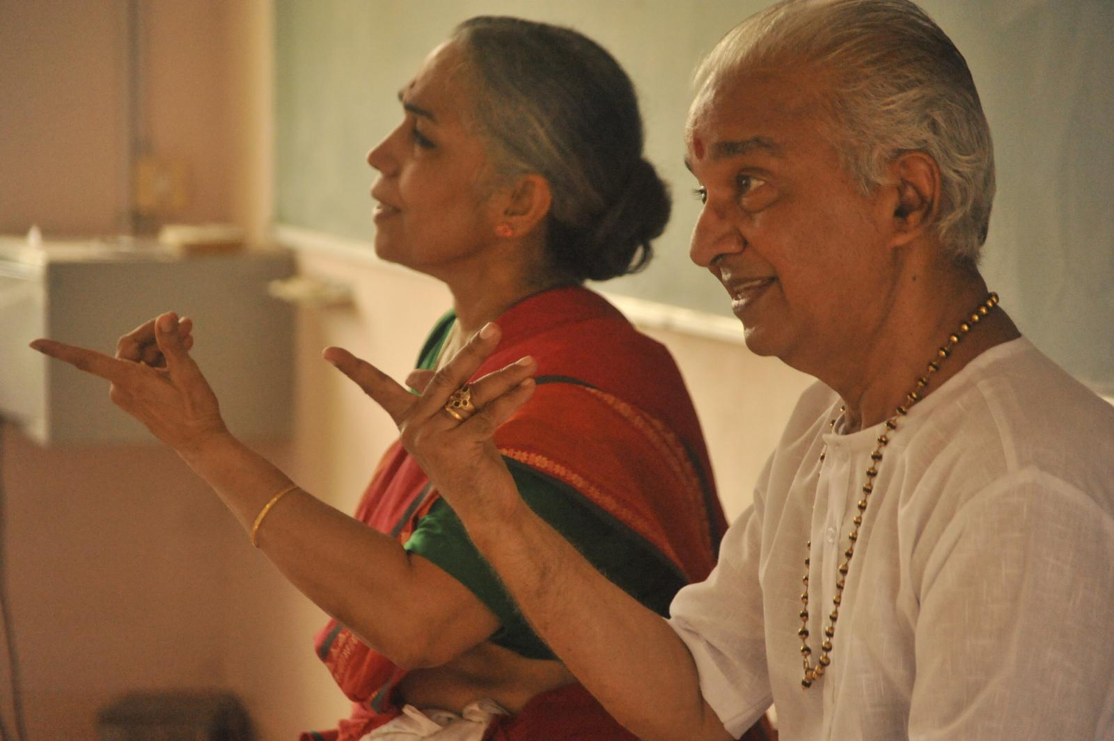 patient, passionate and purposeful duo.. Dhananjayans