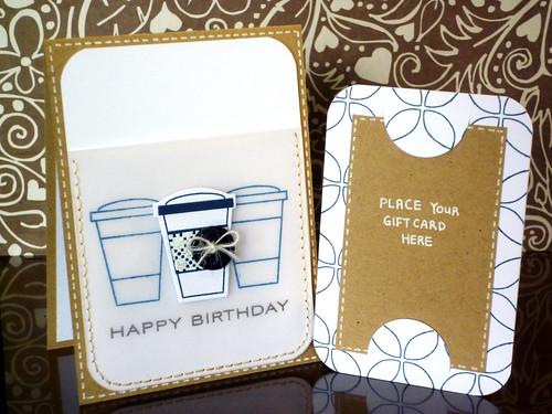 Coffee Gift Card - Pocket