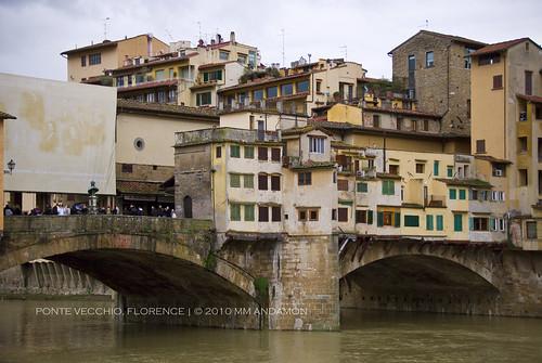 Ponte Vecchio, Detail - West